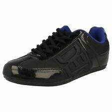 Mens Black Deakins lace up trainers Style TORO