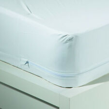 """Waterproof Washable 12"""" Bed Bug Blocker Zippered Mattress Cover Protector"""