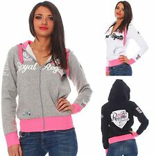 Geographical Norway FIGUEROLLE Damen Sweatjacke Hoodie Sweatshirt Gr. S-XXL