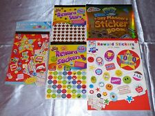 DISNEY ACTIVITY BOOK REWARD STICKERS FAIRIES PRINCESSES CARS TOY STORY MONSTERS