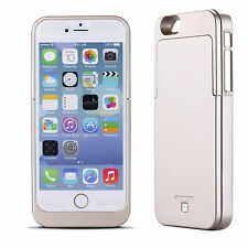 Für Apple iphone 5 5S Power Bank mobile Lade Schale Case Akku Battery 2600mAh