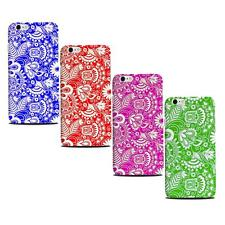 """Beautiful Spiral & Flower Case for Apple iPhone 6 Plug 5.5"""" Larger i-phone Cover"""