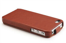 PREMIUM PU LEATHER FASHION ULTRA SLIM THIN CASE COVER FOR iPHONE 4 4S