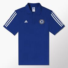 CHELSEA FC MENS ADIDAS CURRENT SEASON 2014/15 POLO SHIRT  SIZE S M L XL RRP£30