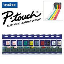 BROTHER P-TOUCH LABELS / TAPE CASSETTE FOR LABEL PRINTERS / CHOOSE SIZE & STYLE