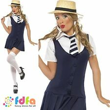 ST TRINIANS SEXY SCHOOLGIRL UNIFORM -UK 4-18 - womens ladies fancy dress costume