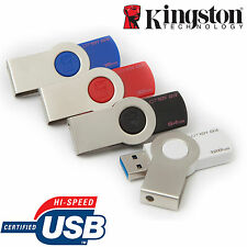 KINGSTON DATATRAVELER 101 G3 USB 3.0 TWISTER KEY PEN FLASH DRIVES MEMORY