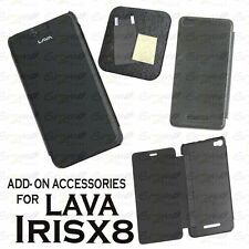 Diary Folio Flip Flap Case Cover / Screen Guard For LAVA IRIS X8
