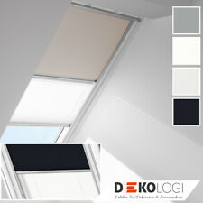 Orig. VELUX Verdunkelung Rollo Plissee Manuell Duo GGL GPL GHL GPL DFD DUO