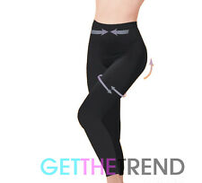 Womens Seamless High Waisted control slimming Support Leggings Size 8 to 30