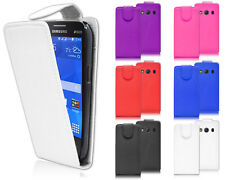 New Premium Magnetic Wallet Flip Leather PU Case Cover For Samsung Galaxy Ace 4