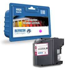 COMPATIBLE LC225XLM HIGH CAPACITY MAGENTA INK CARTRIDGE FOR BROTHER PRINTERS