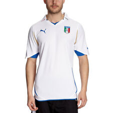 Mens Puma Italy 2010 Away Football Club Jersey Italia Official Shirt White Size
