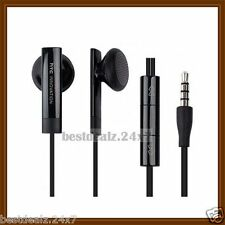 Black OEM RC-E160 3.5mm Remote Stereo Handsfree Headset for HTC Mobile Phone