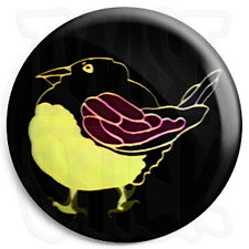 Magpie Bird - 25mm Retro Kids TV Program Button Badge with Fridge Magnet Option