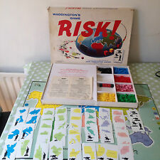 VINTAGE RISK BOARD GAME SPARES / REPLACEMENT BOARD ARMIES CARDS RULES DICE