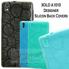 For XOLO A1010 Designer Vivid Coloured Soft Silicon Back Case Cover