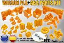 Kit Reprap Wilson 3D printer PLA + ABS Proteinas Reprap Printed parts prusa i3+