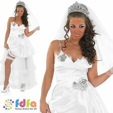 MY BIG FAT GYPSY WEDDING BRIDE - UK 8-30 - womens ladies fancy dress costume
