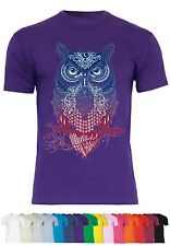 M40 F140 Herren T-Shirt mit Motiv Magic Owl