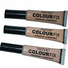Technic Colour Fix Concealer with Applicator Light Medium Dark Shades Coverage