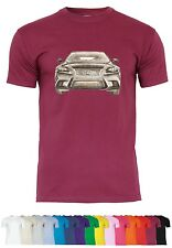 UL75 F140 Herren T-Shirt mit Motiv Lexus IS