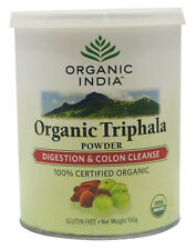 TRIPHALA POWDER 100% CERTIFIED ORGANIC GLUTEN FREE 100GM IMPROVES DIGESTION