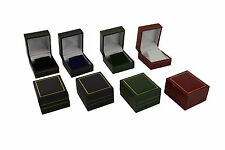Luxury Faux Leather Earring Box Jewellery Display Storage Gift Box