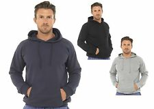 Mens Hooded Jacket Top Gents Hoody Hoodie Boys Casual Lounge Wear Size UK M-XL