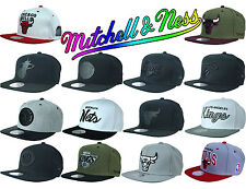 Mitchell & and Ness Snapback Cap Mütze Chicago Bulls