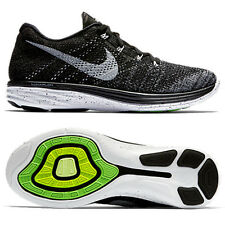 Nike Flyknit Lunar 3 Black/White 698181-010 US MEN Size 7-11