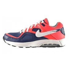 Nike Air Max Go Strong Sneakers Basse Uomo Blu Rosso Fluo