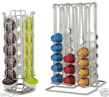 24 ROTATING / 48 COFFEE CAPSULE HOLDER POD TOWER STAND RACK FOR DOLCE GUSTO 360