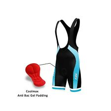 FDX Mens Texture Cycling bib shorts Coolmax® Padded Bike Pants Cycle Bib jersey