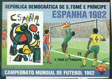 St.Thomas & Prince Islands 1982 #649 World Cup Football Championships MS Imperf