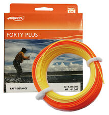 Airflo FORTY PLUS (40+) EXTREME Specialist Weight Forward Fly Line Orange/Yellow