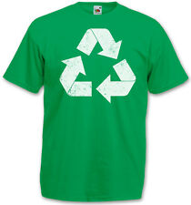 RECYCLE I TBBT TV CAMISETA The Big Bang Reciclaje Logo Teoría de la Talla S 3XL