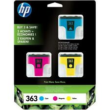 ORIGINAL HP 363 3 COLOUR CARTRIDGE MULTIPACK CYAN MAGENTA YELLOW (CB333EE)