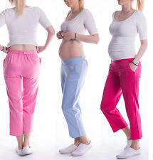 Maternity 7/9 Cropped Trousers / Pants / Shorts - perfect for summer 3081