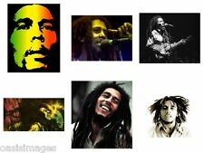 BOB MARLEY reprint,iron on transfer or sticker, 10 choices of picture