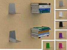 MENSOLE PORTA LIBRI INVISIBILE DI DESIGN 6 COLORI DIFFERENTI MENSOLE LIBRI