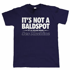 It's Not A Bald Spot Mens Funny T Shirt - Birthday Gift for Dad Him Fathers Day