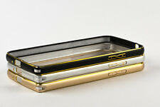 Ultra Thin Aluminium Metal Bumper Frame Case Cover for Apple iphone 4 4G 4S 4GS
