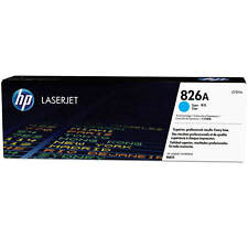 GENUINE HP HEWLETT PACKARD CF311A / 826A CYAN LASER PRINTER TONER CARTRIDGE