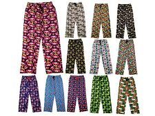 Mens Character Lounge Pants Pyjamas Pj Bottoms Trousers Cartoon Size UK S - XL