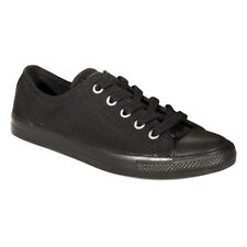 Converse All Star Baskets Basses Ox Dainty Sport Toile Femme Chaussures Noir Uni