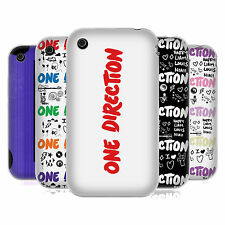 OFFICIAL ONE DIRECTION 1D LONGFORM LOGO SOFT GEL CASE FOR APPLE iPHONE 3GS
