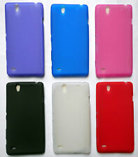 Sony Xperia C4 Premium Matte Finished Soft Silicon Shell Mobile Back Case Cover