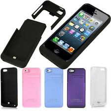 iPHONE 4/4S/5/5S 1900MAH 2200MAH PORTABLE CHARGER CASE CHARGING BATTERY PACK