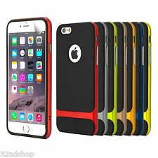 NEW Genuine ROCK Bullet Proof Case for Apple iPhone 6 (4.7) + Screen Protector